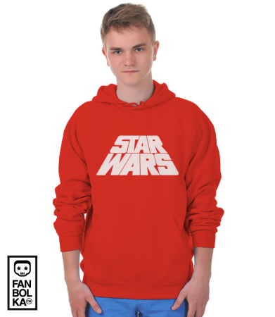 Худи Звездные Войны лого титры | Star Wars logo titres