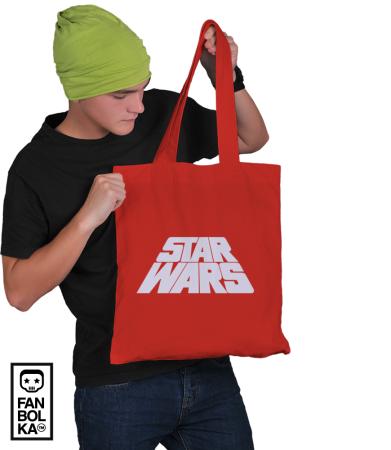 Сумка Звездные Войны лого титры | Star Wars logo titres