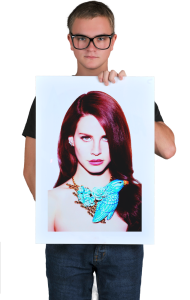 "Постер Лана Дель Рей.""С Мода"" | Lana Del Rey. ""S Moda"""