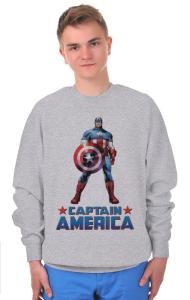 Свитшот Постер Капитан Америка | Captain America