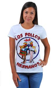 Футболка Во Все Тяжкие. Лос Полос Германос   Los Pollos Hermanos