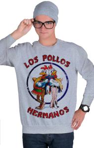 Свитшот Во Все Тяжкие. Лос Полос Германос   Los Pollos Hermanos