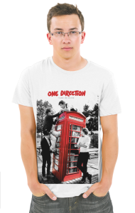 Футболка Ван Дирекшн- Забери меня домой | One Direction-Take me home