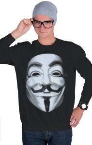 Свитшот Маска Гая Фокса, Анонимуса | Guy Fawkes, Anonymous Mask