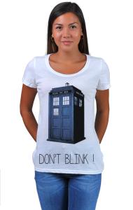 Футболка Доктор Кто. Не моргай   Doctor Who. Don`t blink
