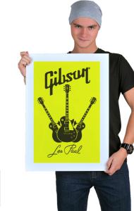 Постер Гибсон Фан | Gibson Fan
