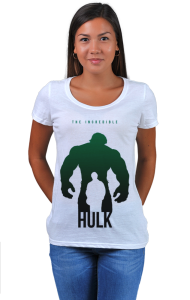 Футболка Халк-Супер герой   Hulk-Super Hero