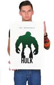 Постер Халк-Супер герой | Hulk-Super Hero