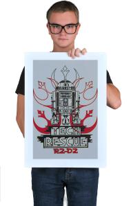 Постер R2-D2 Техспасатель | R2-D2 Tech Rescue