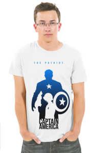 Футболка Капитан Америка-Патриот | Captain America Patriot