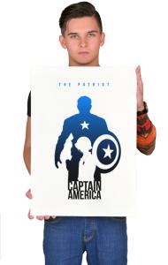 Постер Капитан Америка-Патриот | Captain America Patriot