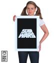 Плакат Звездные Войны лого титры
