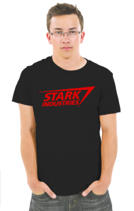 "Футболка ""Старк Индастриз"" классик лого | ""Stark industries"" classic logo"
