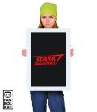 Плакат Старк Индастриз классик лого