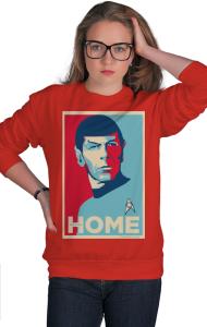 Свитшот Звездный путь - Мистер Спок. Домой | Star Trek - Mr. Spock. HOME