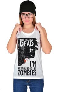 Футболка Ходячие мертвецы   Walking Dead