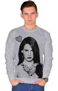 Свитшот Лана Дель Рей. С Мода-моно   Lana Del Rey. S Moda-mono
