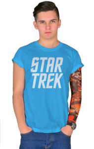 Футболка Звездный путь. Классическое лого | Star Trek. Classic Logo