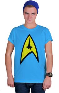 Футболка Стар Трек классик-лого №3  | Star Trek classic logo №3.