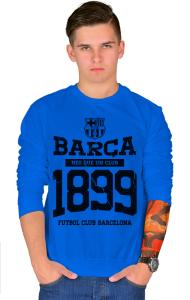 Свитшот ФК Барселона c 1899. Винтаж | Barca FC 1899. Vintage