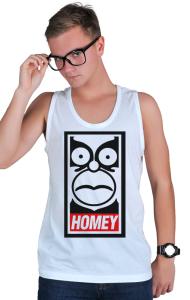 Футболка Гомей. Гомер Симпсон   HOMEY. Homer Simpson