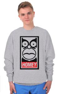 Свитшот Гомей. Гомер Симпсон | HOMEY. Homer Simpson