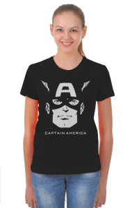 Футболка Капитан Америка   Captain America