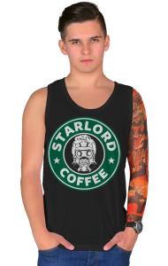 Футболка Звездный Лорд кафе | StarLord Coffee