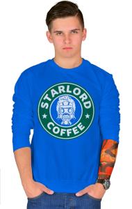 Свитшот Звездный Лорд кафе   StarLord Coffee