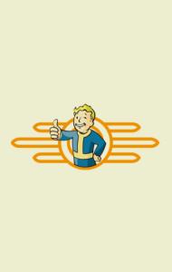 Постер Фоллаут. Волт Бой | Fallout. Vault-Boy
