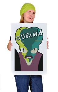Постер Морбо Футурама | Morbo Futurama
