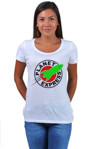 Футболка Межпланетный Экспресс | Planet Express