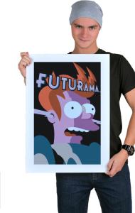 Постер Фрай Футурама | Fry Futurama