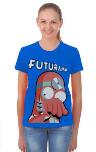 Футболка Зойдберг Футурама | Zoidberg Futurama