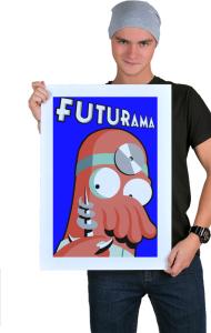 Постер Зойдберг Футурама | Zoidberg Futurama