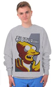 Свитшот  Фарнсворт Футурама | Farnsworth Futurama