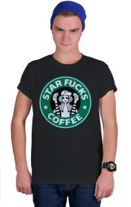 Футболка Стар Фак Кафе |Star Fucks Coffee