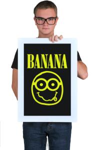 Постер Миньон Банана | Minion Banana
