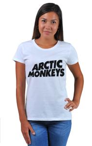 Футболка Арктик Манкис Лого   Arctic Monkeys