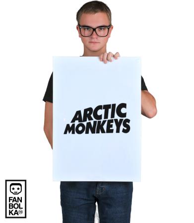 Постер Арктик Манкис Лого   Arctic Monkeys