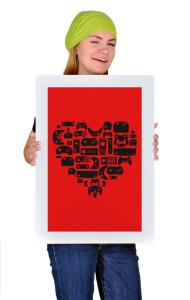 Постер Сердце Геймера | The Hearts Of Gamers