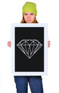 Постер Алмаз олдскул | Diamond Oldschool