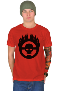 Футболка Безумный Макс | Mad Max Fury Road Logo