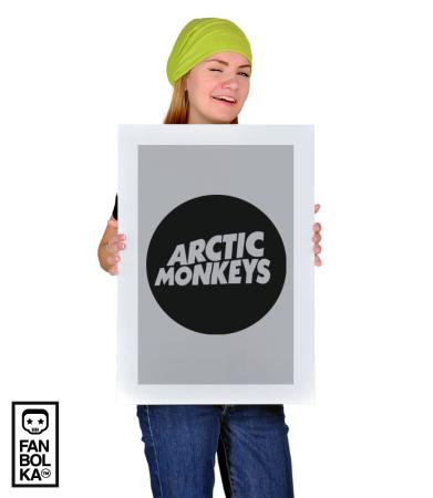 Постер Логотип Арктик Манкис|Logotype Arctic Monkeys