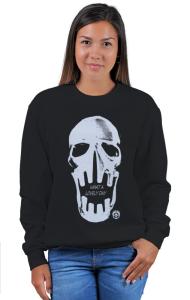 Свитшот Череп Безумный Макс   Skull Mad Max