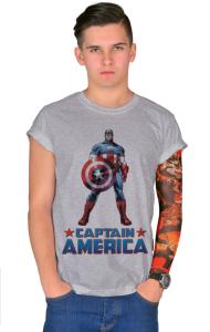 Футболка Постер Капитан Америка | Captain America