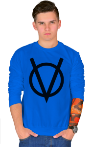 Свитшот V — значит вендетта |  V for Vendetta