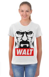 Футболка Уолтер Уайт   Walter White