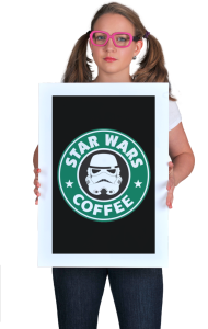 Постер Стар Варс кофе| Star Wars coffee