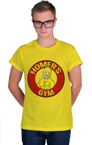 Футболка Тренажерный зал Гомера | Homer's gym